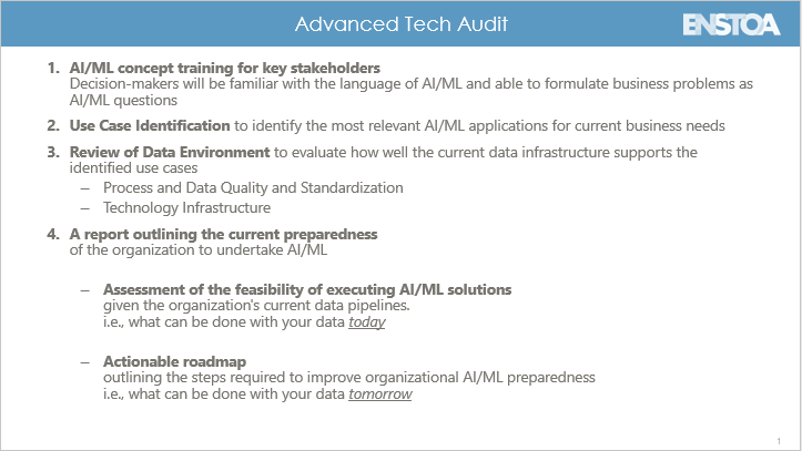 Advanced Tech Audit